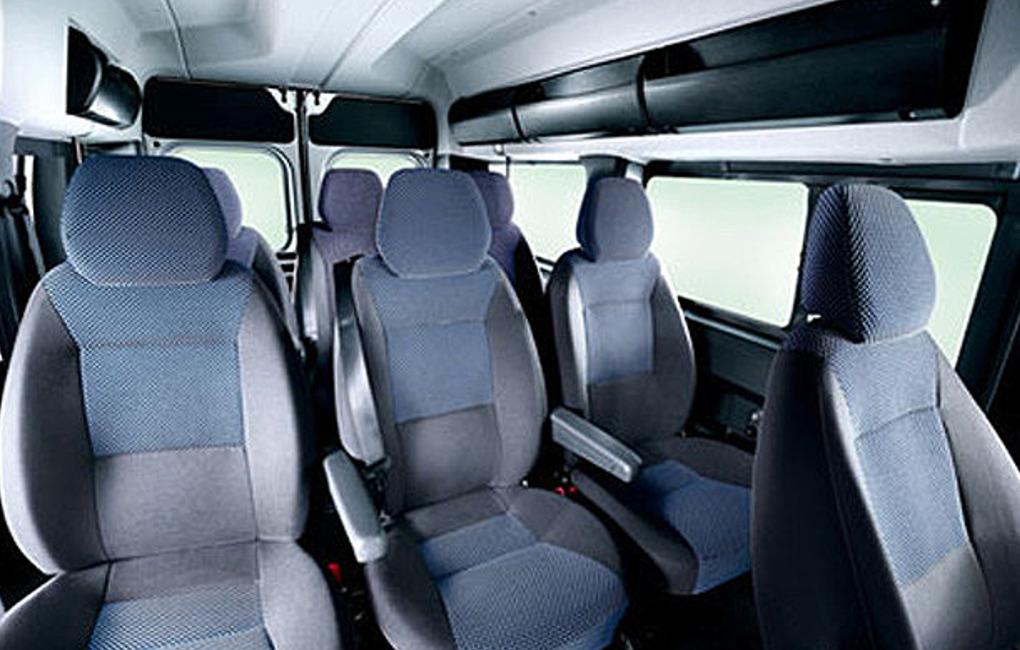 Panoramabus innen - Taxi Haage