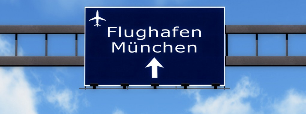 Taxi Autobahn Flughafen